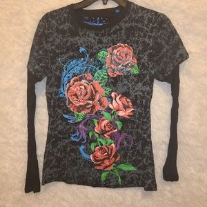 Rock & Roll Cowgirl Shirt size M